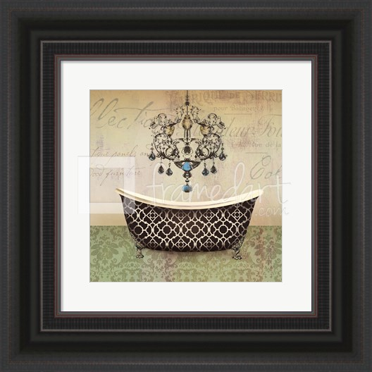 French Vintage Bath I - Mini