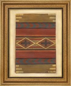 Framed Rio Grande Weaving (H) I