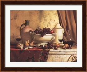 Framed Italian Feast
