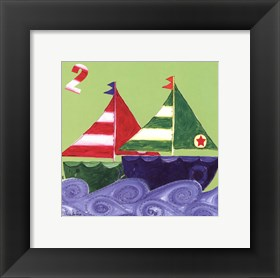 Framed Two Ships