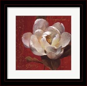 Framed Paris Blossom III