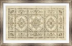 Framed Ornamental Ceiling Design