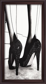 Framed High Heel Shoes