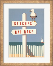 Framed Beaches vs. Rat Race