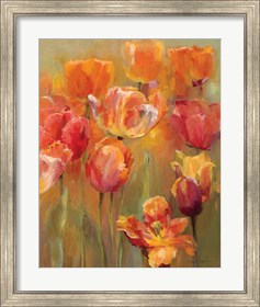 Framed Tulips in the Midst II