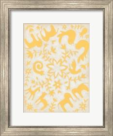 Framed Spring Otomi I