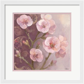 Framed Gypsy Blossoms I