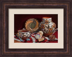 Framed Native American Art