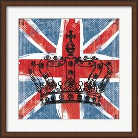 Framed Union Jack Crown 2