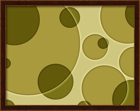 Framed Dots II