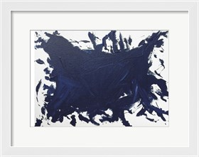 Framed Indigo Blue Trend 2