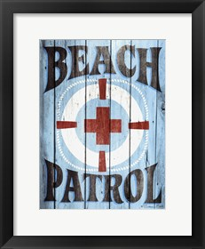 Framed Beach Patrol