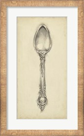Framed Ornate Cutlery II