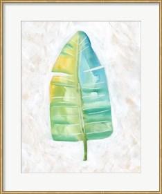 Framed Ocean Side Palms  V