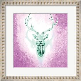 Framed Mosaic Deer