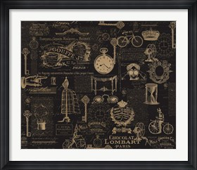 Framed Vintage Steampunked