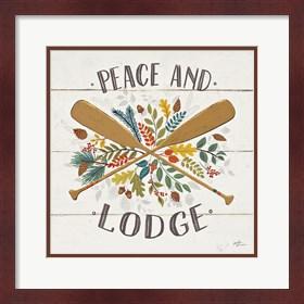 Framed Peace and Lodge IV