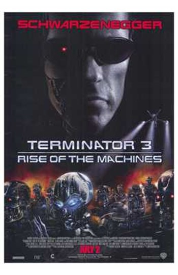 Terminator 3: Rise of the Machines art print