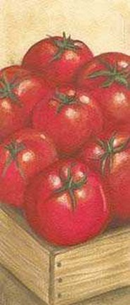 Framed Drawer Tomatos Print
