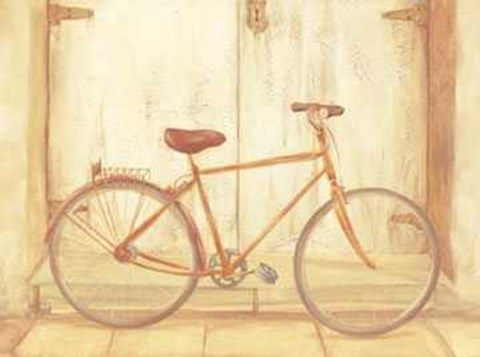 Framed Bicycle 2 Print