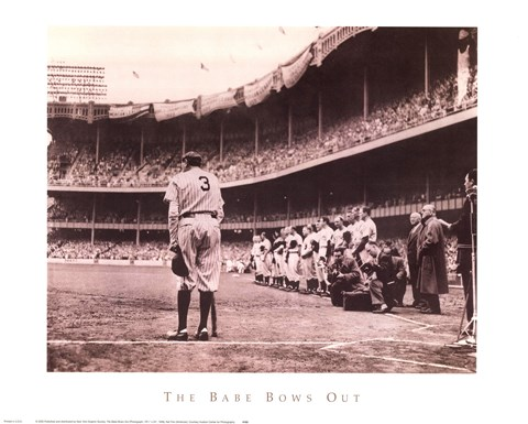 Babe Bows Out, c.1948