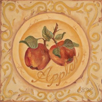 Framed Apples Print