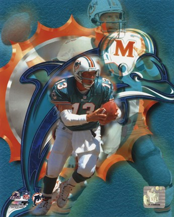 Framed Dan Marino - Portraits Plus Print
