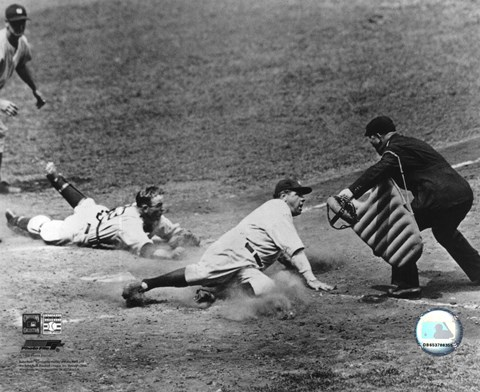 Babe Ruth - Sliding Into Home