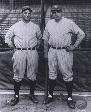 Lou Gehrig / Babe Ruth - Full Body / Pinstripes