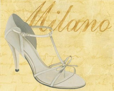 Framed Milano Shoe Print