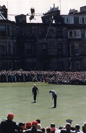 Framed St. Andrews 1961 British Open 335 Print
