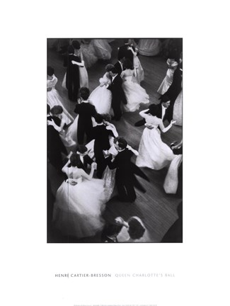 Framed Bresson - Queen Charlotte's Ball, 1959 Print