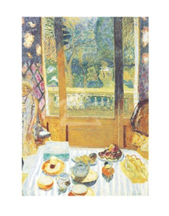 Framed Breakfast Room, 1930 Print
