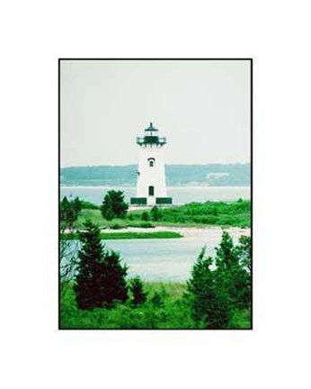 Framed Edgartown Harbor Print