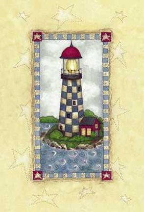 Framed Lighthouses IV Print