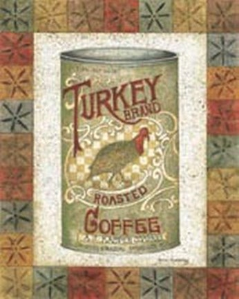 Framed Turkey Coffee Print