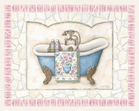 Framed Bathtub II Print