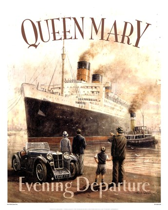 Framed Queen Mary Print