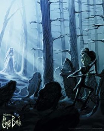 Framed Corpse Bride - Victor Running Print