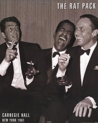 Framed Rat Pack - Carnegie Print