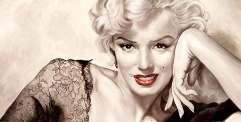 Framed Marilyn Monroe - In Your Eyes Print