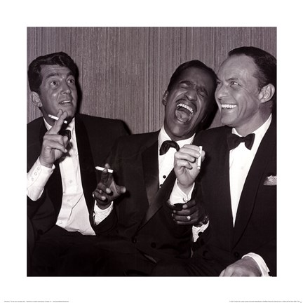 Framed Rat Pack – Carnegie Hall Print