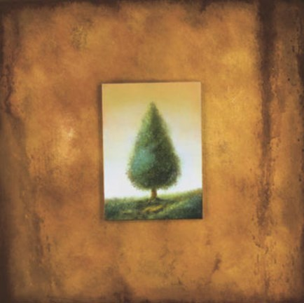 Framed Green Tree Print