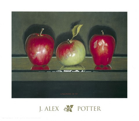 Framed Apple Ambulation Print