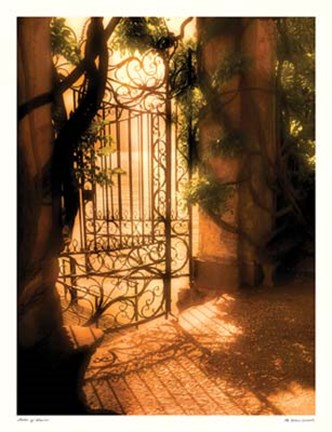 Framed Gates of Dawn Print