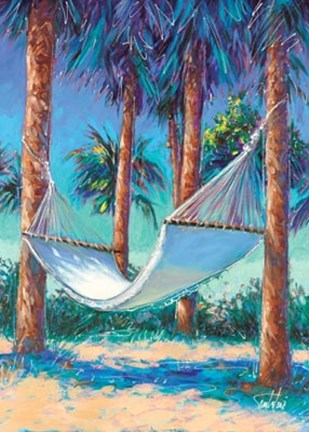 Framed Cool Hammock Print
