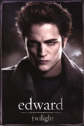 Framed Twilight - Edward Print