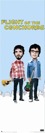 Framed Flight of the Conchords Print