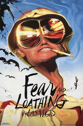 Framed Fear & Loathing In Las Vegas Print