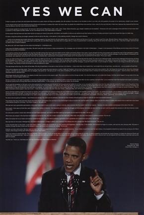 barack obma acceptance speech Obama acceptance speech in full barack obama a speech by the new president-elect of the united states of america, barack obama wed 5 nov 2008 0024 est first published on wed 5 nov 2008 0024 est.